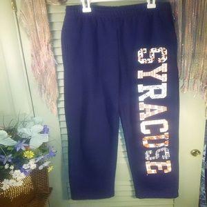 Jansport Syracuse Uni. graphic sweatpants sz S